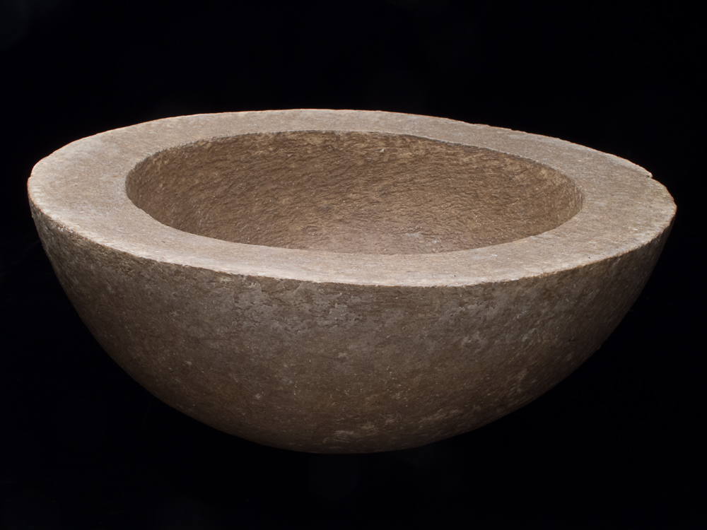 6 Bowl_Unfired clay and wax_5Hx11DIAx2T