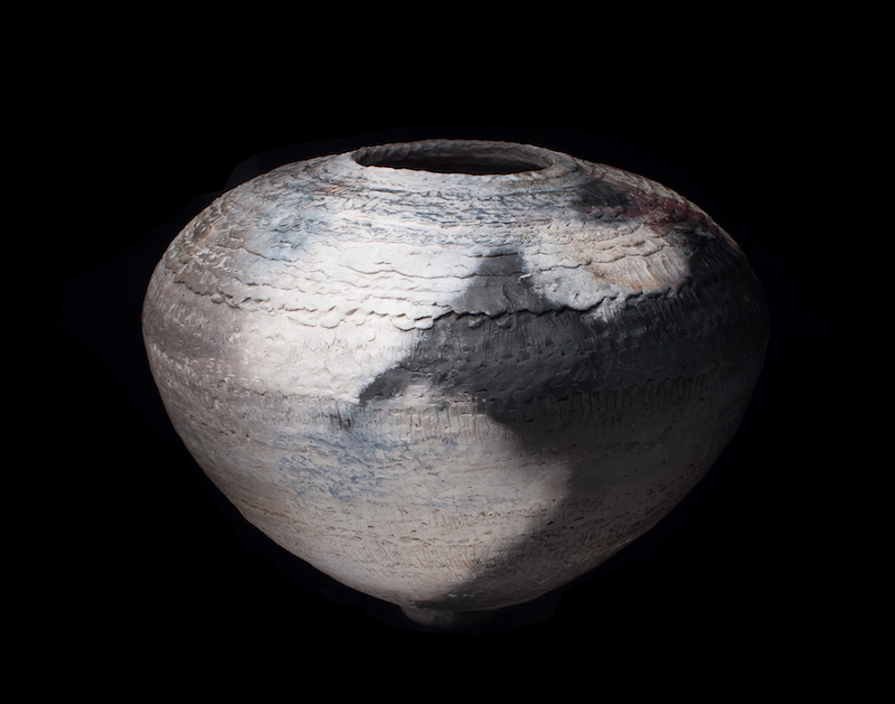 12 Jar IV:Antiquities_Pit fired clay_16Hx16
